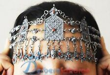 silver and red coral for brides Handmade Algerian Kabyle Taasavt in pure dark
