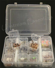 Storage Box Organizer - 24 Smaller Inner boxes,Clear,Great for Bulk Flies #1903