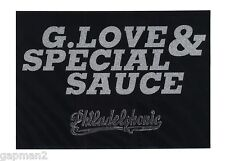 G. Love & Special Sauce 1999 Philadelphonic LP / Tour Card + peel-back Sticker