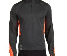 Reebok Zig Long Sleeve 1/4 Zip (M) Gravel W38793