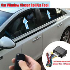1x Automatic Window Closer Harness For 4 Door Car SUV Alarm System Roll Up Kit