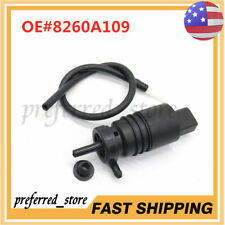 NEW 8260A109 Windshield Wiper Washer Pump For Mitsubishi Lancer 2008-2015
