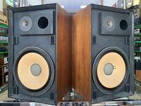 JBL L-88 LEGENDARY Studio Monitor Speakers Vintage 1970 Original Working Perfect