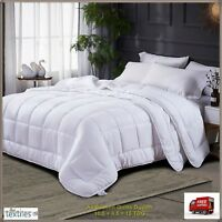 Luxury All Seasons Duvet Bedding Single Double King Super King (4.5+10.5)15 TOG