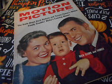 Dick Clark Covers Motion Picture Magazine April 1959 Ricky Nelson Rock Hudson