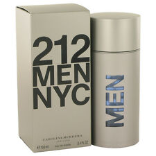 Carolina Herrera 212 Men NYC Fragrance 3.4oz Eau De Toilette MSRP $90 NIB
