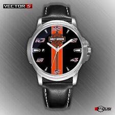 Orologio da polso Harley & Davidson biker MOTO in acciaio inossidabile Watch 883