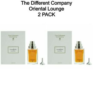 2 PACK - Oriental Lounge By The Different Company Natural Spray 100 ml 3.3 fl oz