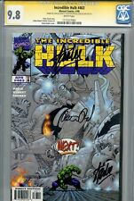 Incredible Hulk Vol 1 463 CGC 9.8 SS X3 Double Stan Lee Peter David Kubert WP