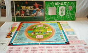 WEMBLEY- VINTAGE BOARD GAME - ARIEL- COMPLETE -VGC