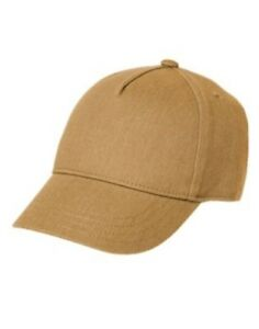 GYMBOREE PORTLAND PLAID TAN HERRINGBONE BASEBALL CAP HAT 5 6 7 8 10 12 NWT