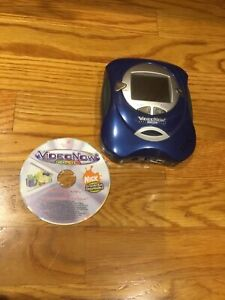 2004 Video Now Color player BLUE  Hasbro VideoNow With spongebob disc WORKS