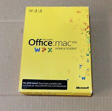 Microsoft Office for Mac 2011 Home and Student DVD Full Version