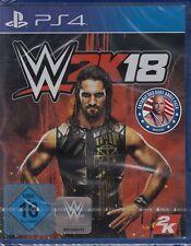 WWE 2K18 inkl. KURT ANGLE-PACK - PlayStation 4/PS4 - NEU & OVP - USK 16