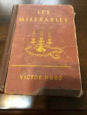 Les Miserables By Victor Hugo HardCover 1946 LaidLaw Brothers