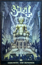 GHOST Ceremony And Devotion 2018 Ltd Ed New RARE Litho Poster +FREE Metal Poster