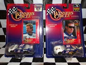 Rusty Wallace #2 Miller & Elvis 1:64 scale car w/ card Winner Circle 2 Cars