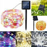 20M 200 Led Solar Power Fairy Light String Lamps Party Decoration Garden Outdoor