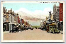 Livingston MT Orpheum Vitaphone Sound Theatre~Barber~Hanson's Furniture~1931 PC