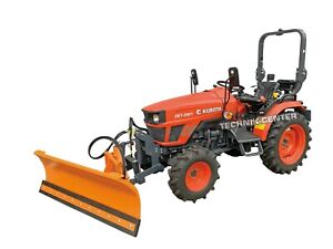 ESCORT KUBOTA EK1-261, Allrad, Traktor, Kleintraktor- Winterdienst- Schild