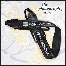 Clean Original Wide Konica Minolta Dynax Black & White Camera strap