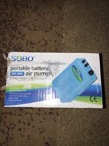 SOBO portable battery air pump SB-980
