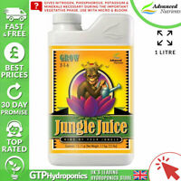 Advanced Nutrients Jungle Juice Grow 1L - Veg Nutrient Booster - 1 Litre