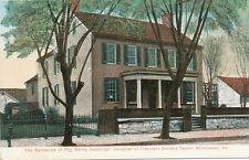 Winchester VA * Dandridge Home * Daughter Of Pres. Zachary Taylor ca 1908