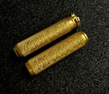 GOLD CHEAT DEATH KNURLED GRIPS