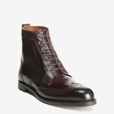 Allen Edmonds Dalton Shell Cordovan Wingtip Boot (Brogue Perf, 0181 Burgundy)