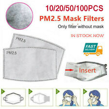 Comfortable Protection Air Purifying carbon Filter pad Suit for PM2.5 Face cover