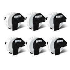 6 Roll White Address Labels Dk1208 For Brother Dk 1208 Ql 500 Ql 570vm With6 Frame