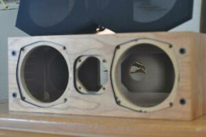 Avalon Acoustics NP Series Cherry Wood Speaker Cabinet Unloaded (empty) NOS NIB