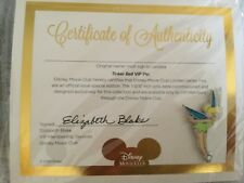 New Tinkerbell DISNEY MOVIE CLUB Exclusive VIP PIN - in Original Sealed package