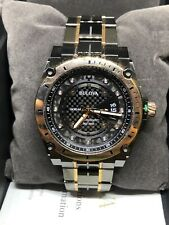 Bulova 98D149 Men's Precisionist Gray & Rose-Gold Watch #C89