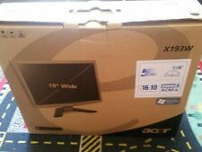 """Acer X193W 19"""" Widescreen LCD Monitor"""