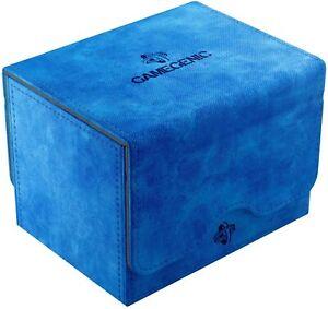 Sidekick 100+ Card Convertible Deck Box: Blue GameGenic Asmodee NEW