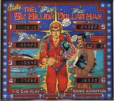 SIX MILLION DOLLAR MAN Complete LED Lighting Kit SUPER BRIGHT PINBALL LED KIT