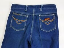 Vintage Graffitti Womens Denim Jeans High Waist straight leg sz 31 actual 29