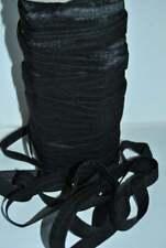 "BLACK  5/8 "" elastic wholesale for baby headband,fold over elastic,sewing"