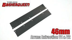 Basherqueen Carbon Fiber Side Skirts 1/7 Arrma Felony/Infraction/Limitless 46mm