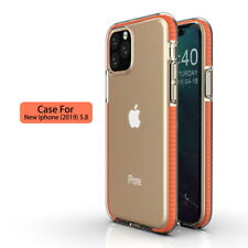Bumper Texture Clear Soft Case Cover For iPhone 12 Pro Max 11 Pro Max XR XS 8 7