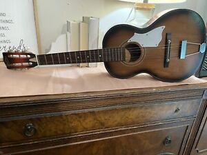 Vintage 1967 Norma 3/4 Parlor Guitar FG3 Reinforced Steel Neck RARE MODEL