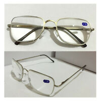 Reading Glasses +6.5 7.0 7.5 8.0 Trendy Women/Men's Metal Frame Eyewear Reader