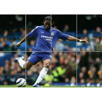 Didier Drogba Football Giant Wall Art Picture Print Picture Poster
