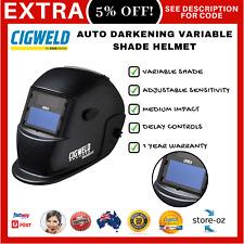 Cigweld Grinding/Welding Auto Darkening Variable Shade (9 13) WeldSkill Helmet