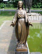 Bronzeskulptur Jesus Garten- und Grabdekoration