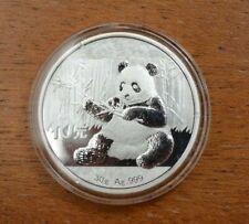 China Panda 2017 Silber Silver 10 Yuan 30g ca 1 OZ .999