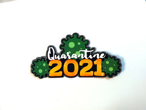 Quarantine 2021 Title paper piecing Premade Scrapbook Pages