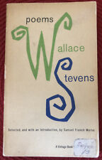 Poems By Wallace Stevens (1959, Paperback) Vintage